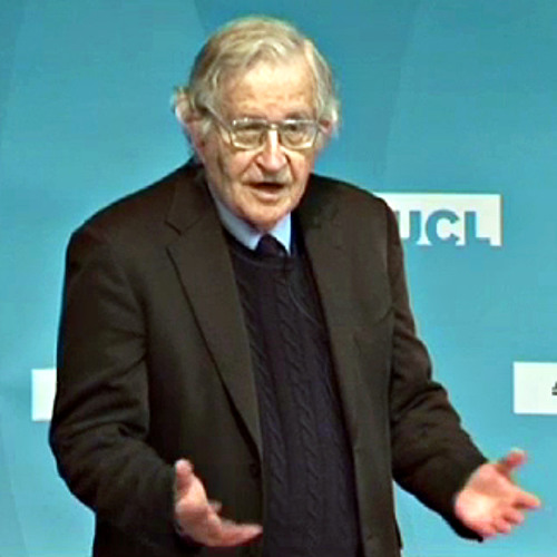 Professor Noam Chomsky - UCL Rickman Godlee Lecture 2011 (Part 1 of 3)