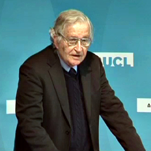 Professor Noam Chomsky - UCL Rickman Godlee Lecture 2011 (Part 2 of 3)