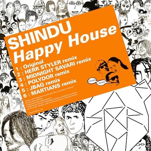 Shindu - Happy House (JBAG remix)