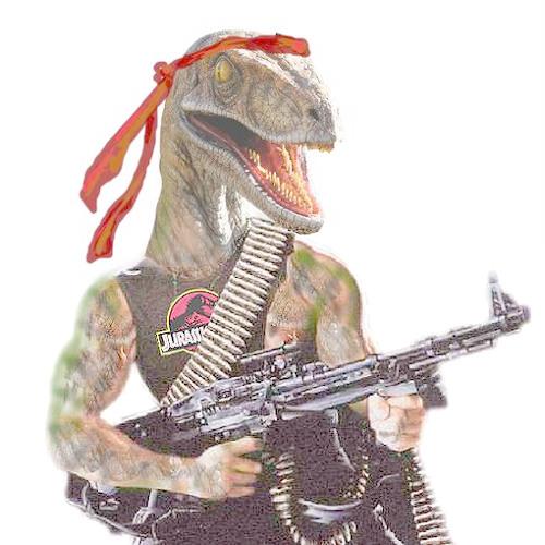 Dinosaur's with Guns [minimix]