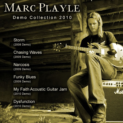 Marc Playle - My Faith Acoustic Guitar Jam (2010 Demo)