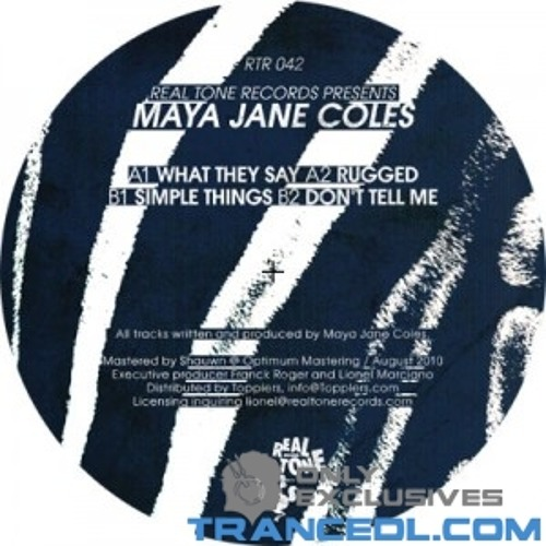 Maya Jane Coles - What They Say Stefan Butler Remake