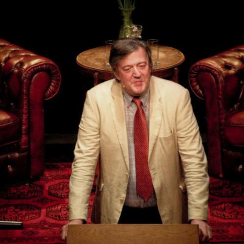 lezing Stephen Fry @ BorderKitchen
