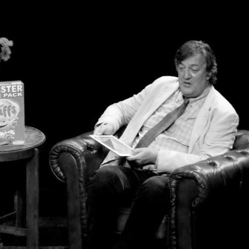 interview Stephen Fry @ BorderKitchen