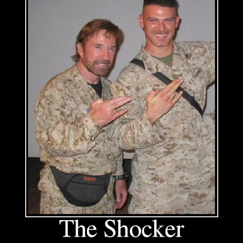 "The Shocker ""No Morira Jamas"" ""Chuck Norris"""