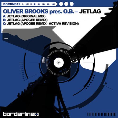 """Oliver Brooks presents O.B. """"Jetlag"""" Apogee Remix (sample)"""