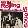 The Rolling Stones Let's Spend The Night Together Artwork