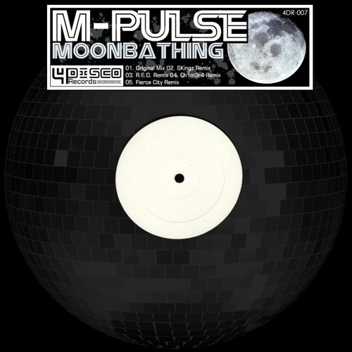 M'Pulse - Moonbathing (CH1M3R4 Remix) - [4Disco Records] - Now on Beatport!
