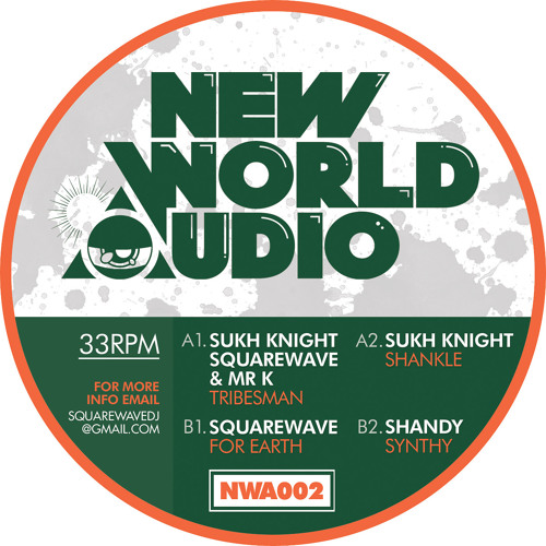 SQUAREWAVE - FOR EARTH (NWA002)