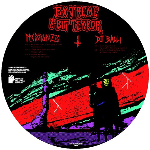 """8 Bit-Metal Manifesto"" DJ BALLI (Sonic Belligeranza 09, 12"" picture, 2011)"