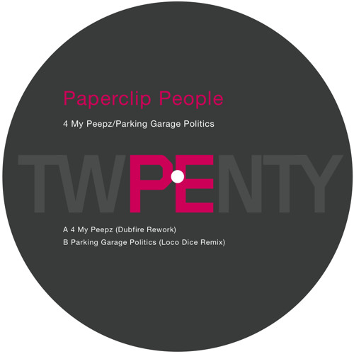 Paperclip People - Parking Garage Politics - Loco Dice Remix (SOUNDCLOUD EDIT)