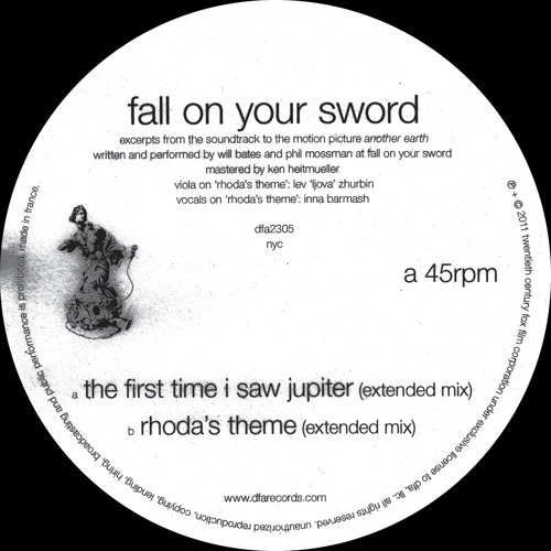 Fall On Your Sword - The First Time I Saw Jupiter