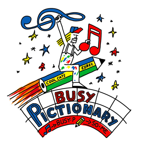 Busy P - BUSY PICTIONARY