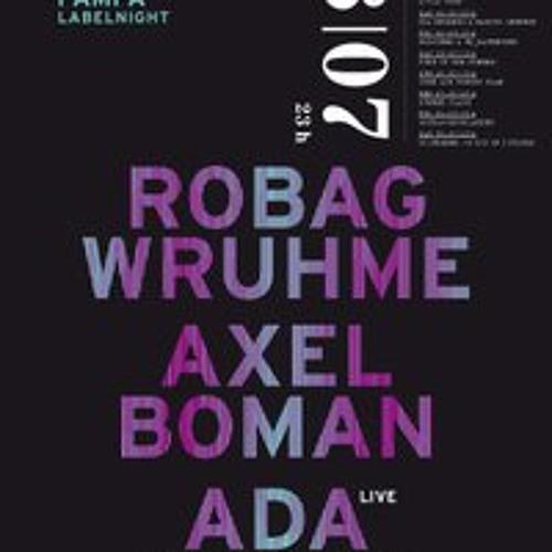PAMPA LABEL NIGHT w/ Robag Wruhme, Axel Boman & Ada at Rocker 33