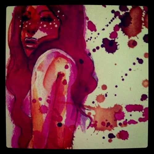 Aoki Desu 11 04   Art By SilSil