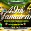 REGGAE - JAMAICAN INDEPENDENCE @ CLUB 2.A.D (EC3N 2HT) - SAT 6TH AUGUS