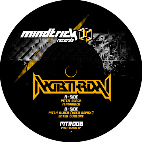 MTR008 Mobthrow - Pitch Black EP 12'' Promo mix feat. Hecq (Out on Sept 5th)