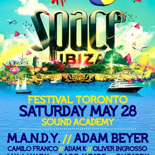 Jay Lumen Live @ Space Ibiza Festival Toronto 06-13-2011