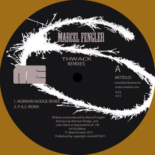 Mote025 :: Marcel Fengler - Thwack (Norman Nodge + P.A.S. + Mike Parker Remixes)