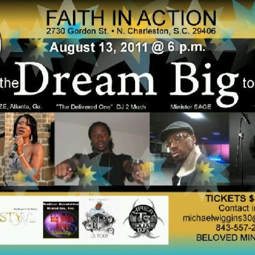 DREAM BIG TOUR 8/13