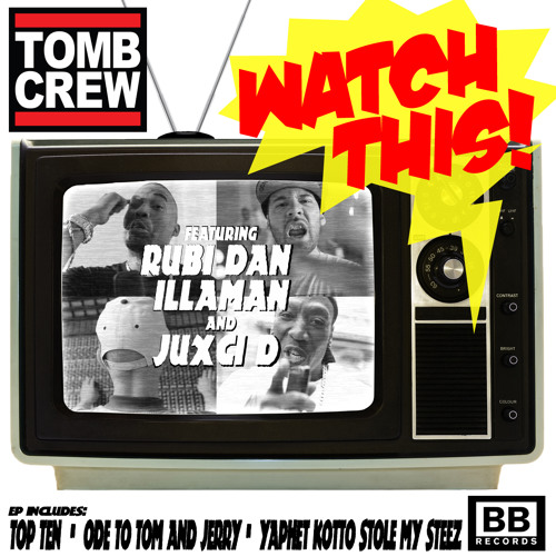 "Tomb Crew - ""Watch This"" EP (Black Butter #9)"