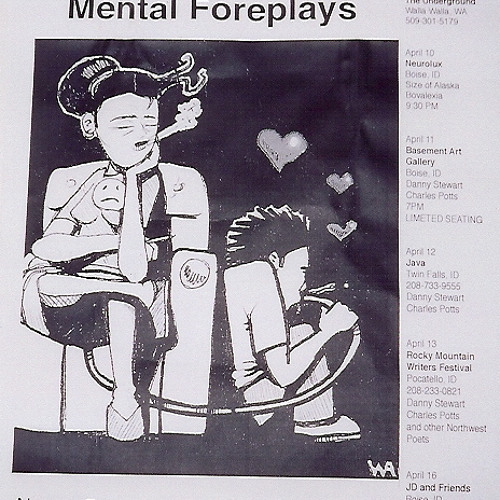Veronica and the Mental Foreplays as a two piece