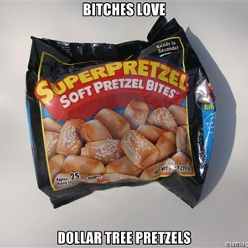 Dollar Tree Pretzel