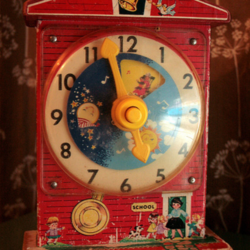 Wind-Up Toy Clock