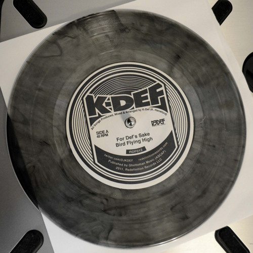 """Audio Preview of K-Def's Upcoming 7"""" (FOR DEF'S SAKE)"""