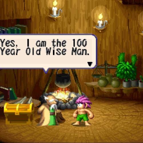100 year old man's hut