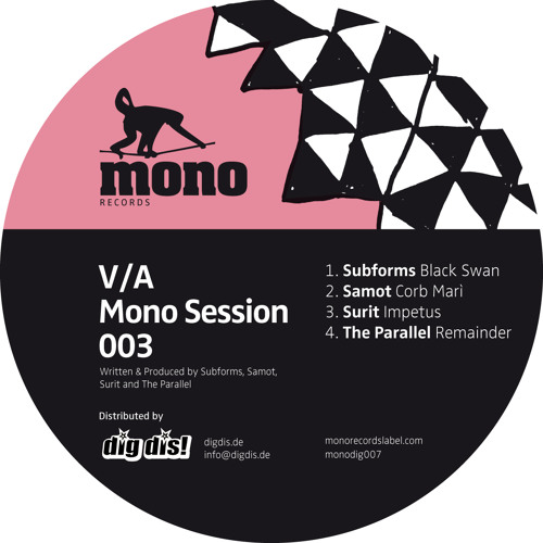 Subforms - Black Swan [Monodig007] out now on Mono Records