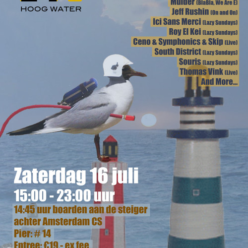 Roy El Kei at Hoog Water Amsterdam 16-07-11