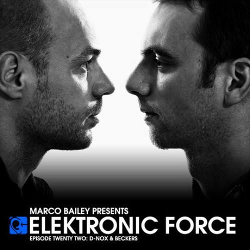 Elektronic Force Podcast 022 with D-Nox & Beckers
