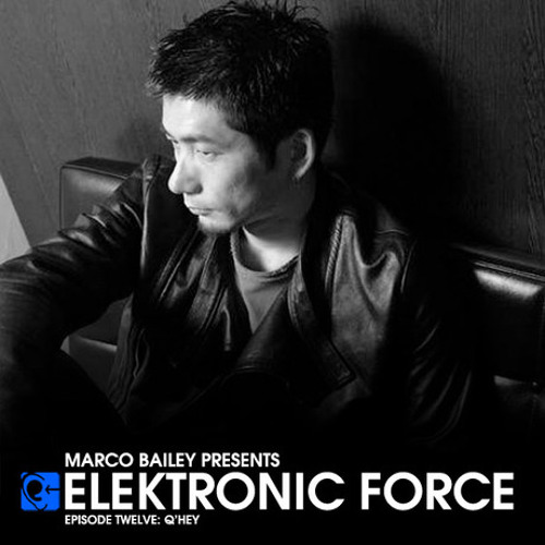 Elektronic Force Podcast 012 with Q'Hey