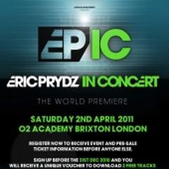 Eric Prydz - Live at EPIC, Brixton Academy, London - 4-2-2011 - Copy