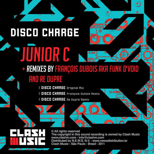 CM0004 - Disco Charge EP - Junior C. - Disco Charge - Re Dupre Remix