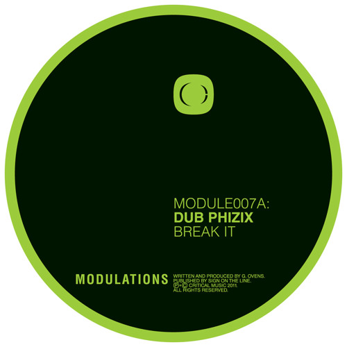 Dub Phizix - Break it - Critical