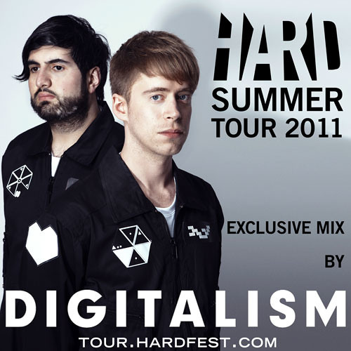 HARD Summer Tour 2011 Mixtape by Digitalism -- tour.hardfest.com