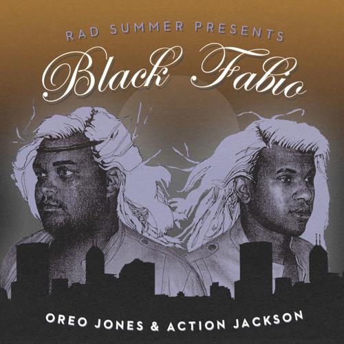 Oreo Jones x Action Jackson - Black Fabio