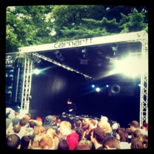 Jamie XX live @ Open Source Festival 2011 at Galopprennbahn Düsseldorf