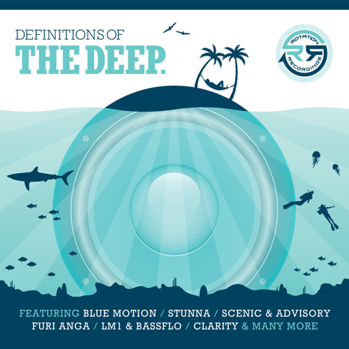 RD004 - Choke & Gigz - Circles - Definitions Of The Deep LP - Rotation Deep UK ©