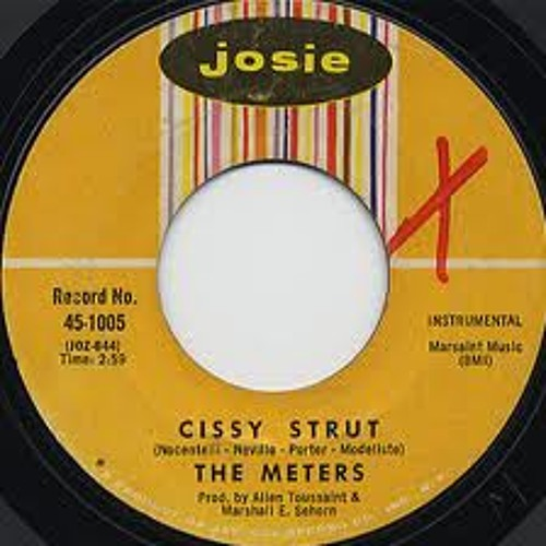 The Meters  /Cissy Strut(1969)