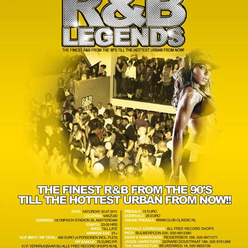R&B Legends Mix Tape 07.30.11