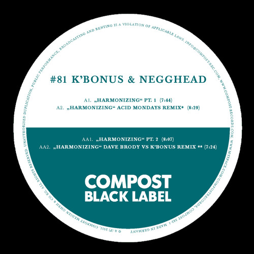 K'bonus & Negghead - Harmonizing Pt.1