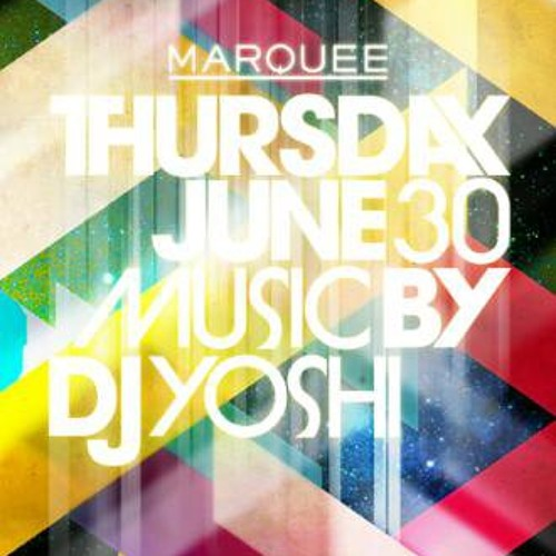 DJ Yoshi - Live From Marquee NY (Top 40/Hip Hop/Electro)