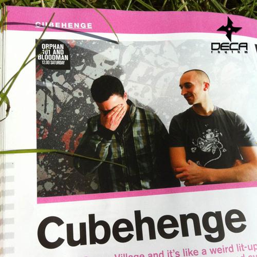 DecaRhythm Podcast vol.3 - Orphan101 & Bloodman Glastonbury - June2011