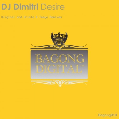 DJ Dimitri - Desire (Original Mix)