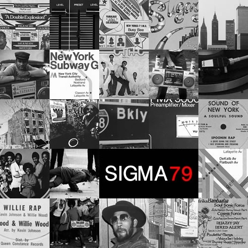 Sigma - 79: A mix of hip-hop tracks from 1979