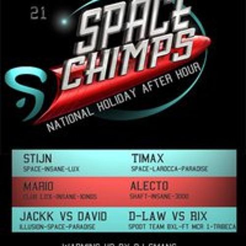 Alecto @ Club Paradise 21-07-2011 (Space National Holiday Afterhours)