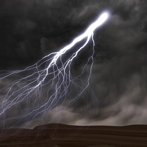 Bruitage d'orage - tonnerre sec